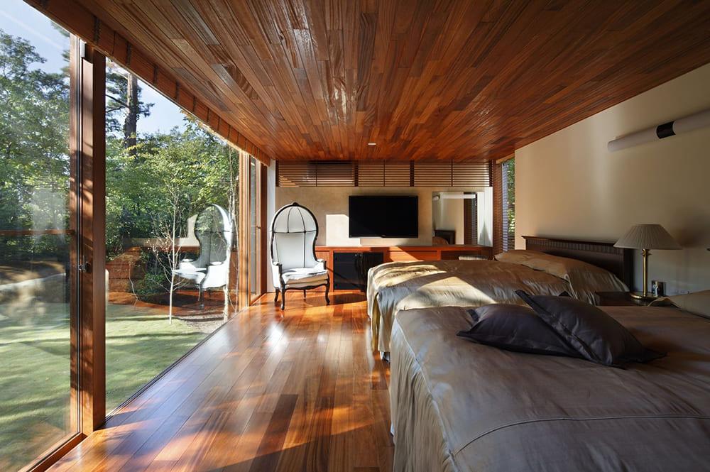 Cielo raso de madera
